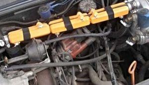 audi 100 gas fuel consumption petrol, diesel, gas