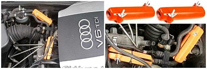 AUDI. Reduce the fuel consumption of Audi