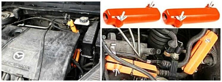 MAZDA. Reduce the fuel consumption of Mazda