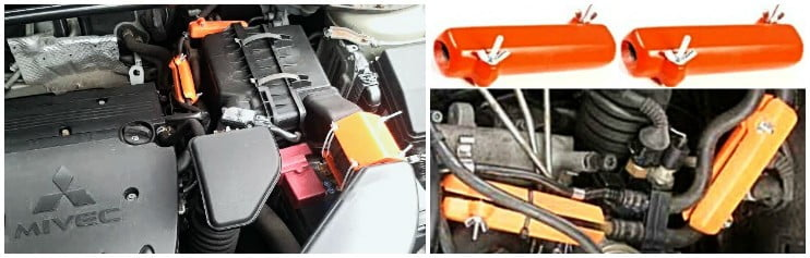 MITSUBISHI. Reduce the fuel consumption of Mitsubishi